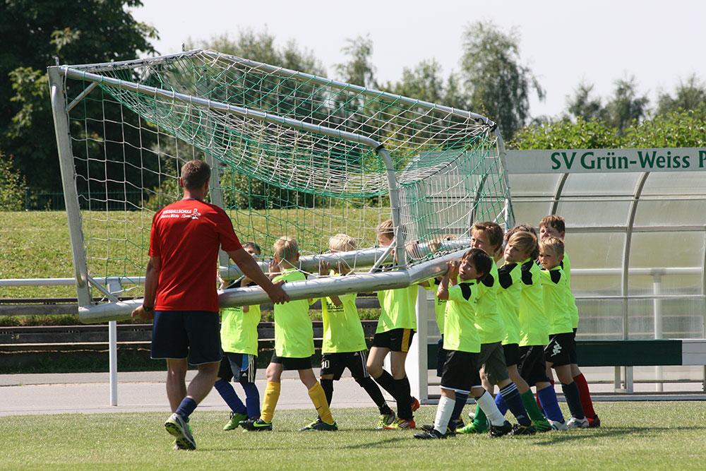Gesellschaftsforum - Fussballtor